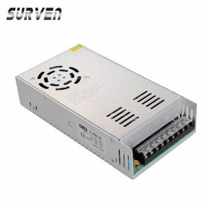 Wholesale-SURVEN 24V 20A 480W Voltage Transformer Switch Power Supply Switching Driver Adapter For Led Strip Light 110V 220V VJuE#