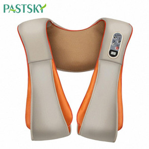 U Forma Elétrica Shiatsu Corpo Shoulder Neck Massager Xaile Voltar Infrared Amassar Massagem Multifuncional Home Health Care VuT0 #