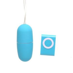 Nouveau étanche sans fil Vibrant Jump Egg 20 Télécommande MP3 délais Vibrator Bullet Femmes Sex Toys Adult Sexy Mini canon