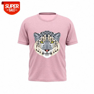 2021New Style 100% Pure Cotton Fashion Animal Series Embossed Fashion T-shirt Men And Women T-shirt #5b0f