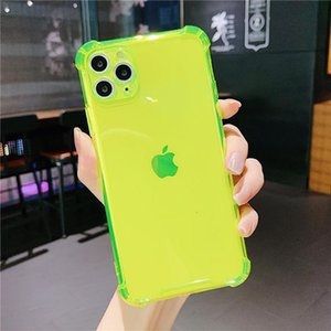 Transparent Bumper Phone Case For Iphone 11 11pro Max Xr Xs Max X 7 8 Plus 11pro Se 2020 Camera Protection Soft jllUKq car_2010