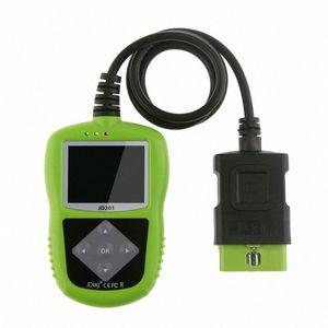 JDiag Оригинал OBD2 код читателя Автомобильный цветной сканер экрана OBDII / EOBD / CAN автомобиля диагностический инструмент Аккумуляторный пробник Scan Tool EqYX #