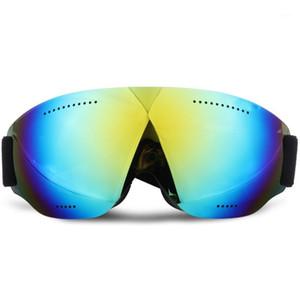 Children's color ski goggles small size children's double layer anti-fog mask glasses ski girl boys snowboard goggles1