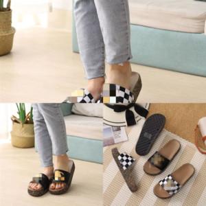 FOXO Summer Women Slippers Slippers Slippers Slips Slipper Slipper Slipper Flip-Flobs Sandals Crystal Roman Roman Dener Dener Zapatos