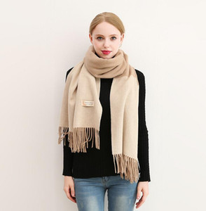 New fashion autumn and winter fashion new shawl European and American tassel scarf free of freight size 200*70cm