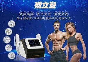Máquina de alta calidad HI-EMT 7 Tesla EMS Estimulación muscular electromagnética Cuerpo que quema de grasas que adelgaza las nalgas Toning Máquina de belleza