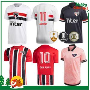 ساو باولو 2020 2021 داني ألفيس لكرة القدم المنزل بعيدا بالقميص 3RD 20 21 COUTINHO VINICIUS حارس المرمى قمصان كرة القدم
