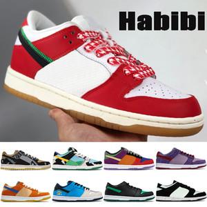 새로운 패션 덩크 망 실행 신발 Habibi 숀 그림자 chunky dunky travis scotts Viotech 낮은 남자 여성 트레이너 스 니 커 즈 미국 5.5-11