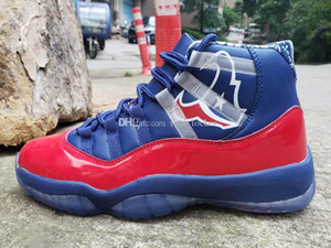 New Jumpman 11 12 New Mens Basketball Shoes Sneakers for Men Brand Designer Trainers 11S 12S Red Blue