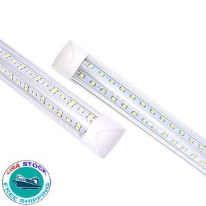 T8 28W 36W 45W 72W LED SMD-Licht 4ft 5ft 6ft 8ft LED-LED-Lichtröhre Großhandel V-förmig integrierte LED-Röhre-Leuchten