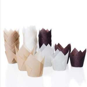 Copos Copos Padarias Copo de Papel Cozinha Estêncil Engrossar Cupcake Cupca Copo Alta Temperatura Bolo De Papel Papel Bolo Cupcakes GWB4059