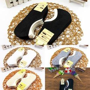solidi calzini silicone assorbente Cfy27 primavera silicone e sockssports cotone invisibile maschile mantengono il heelbreathable e il colore dei calzini di sudore XDR