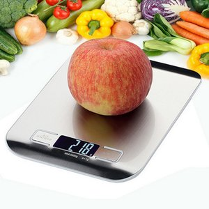 5 10kg Household Kitchen Scale Electronic Food Scales Diet Scales Measuring Tool Slim LCD Digital Electronic Weighing Scale