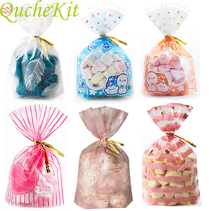 Rose plastic bag love 10x13cm; biscuit and biscuit packaging bag, Christmas gift bag, holiday supplies, packaging bag
