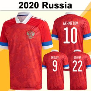 2020 Arshavin Miranchuk Mens Ev Futbol Formaları Rusya Milli Takımı Smolov Dzagoev Erokhin Kerzhakov Zhirkov Futbol Gömlek Üniformaları