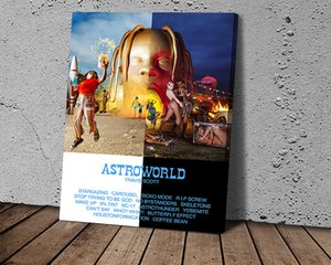 Star World Travel Scott Album Posters and Prints Canvas Painting Modern Fashion Wall Art Picture for Living Room
