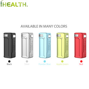 Yocan UNI S Box mod 400mAh built-in battery Variable Voltage Preheat VV Battery Zinc Alloy-materials shell