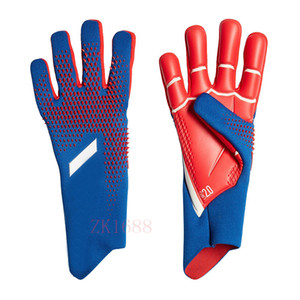 Men Goalkeeper Gloves Full Latex Mesh Soccer Gloves Professional Football Goalkeeper Gloves For Adult & Children