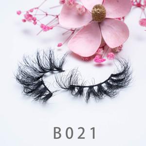 [Mink False Eyelashes-B21]Mink eyelashes 3D eyelash 3D eye makeup mink false lashes soft natural thick 20mm fake eyelashes lashes
