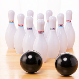 1 Set Toddler Kids Bowling Game Set Outdoor Indoor Sports Interaction Leisure Toys Mini Bowling Bottle