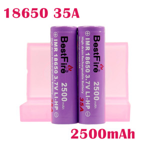 ORIGINAL BESTFIRE BMR 3500MAH 40A 18650 Battery Purple Color Rechargeable Lithium Vape Battery Max Discharge 40A VAPE MOD BATTERY