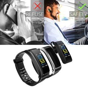 Bluetooth Wireless Earphone Smart Watch Health Tracker Fitness Bracelet Y3 Plus Smart Wristband Bluetooth Headset Music Play