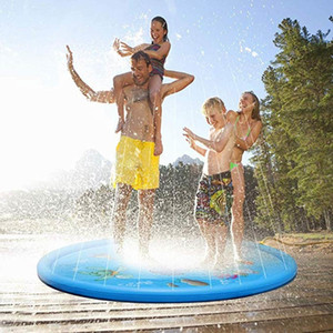 Sprinkle Splash Play Mat Pad Toy Kids Water Pool Inflatable Outdoor Summer Water Toys YH-17 Y200728