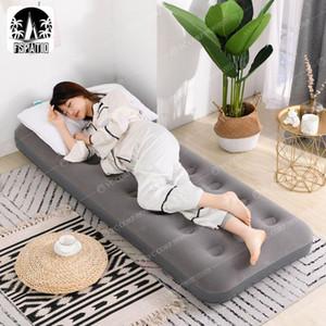 Открытые прокладки капля надувной матрас бытовой двойной утолщенной воздушной подушкой кровать одноместный кемпинг обед перерыв портативный