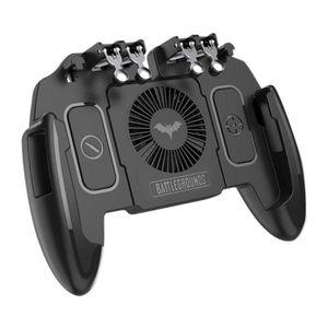 PUBG Móvel Game Controller Six Shooter Dedo Joystick Para Huawei PC Mobile Phone Cooling Joystick Acessó