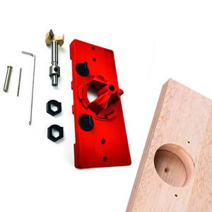 Guía de perforación de la bisagra de la bisagra de la bisagra de estilo de 35 mm ocultas de 35 mm