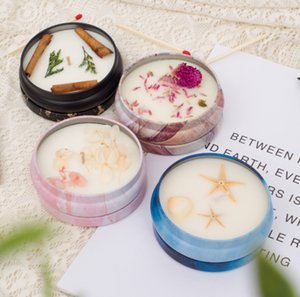 Scented Candle,Smokeless,fresh air,Dried flower flat pot,Vegetable wax,Home Decoration,Scene layout,LOGO can be printed