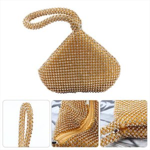 Evening Bags Womens Triangle Glitter Handbag Purse Clutch Evening Bags Party Prom Drop Shipping Good Quality