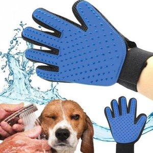Cat Hair Remove Gloves Cat Grooming Glove Pet Effective Massage Dog Combs Cleaning Deshedding Brush Gloves For Cat Dog