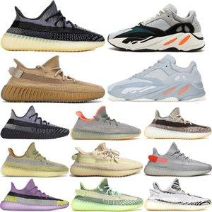 Erkek Bayan Moda Vanta 700 V2 Koşu Ayakkabıları 700 S Fosfor Azael Antlia Cinder Yansıtıcı Erkek Spor Sneakers