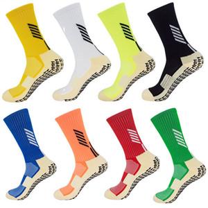 Vente en gros-football Chaussettes Anti Slip Football Chaussettes hommes Chaussettes similaires Comme pour le basket Trusox Course à pied Cyclisme Gym Jogging