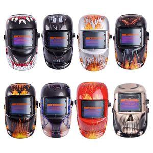 Estilos capacete 8 Auto escurecimento Multifuncional de protecção de soldadura máscara de proteção UV Lens Tig Helmets