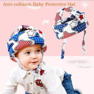 Einstellbare Baumwolle Baby Kopf Schutz Pad Helm Anti-Bump Head Safety Produkt Kinder Kind Kleinkind Protector Kissen # T5P1