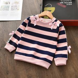 Bibicola meninas blusas outono 2020 crianças camisas camisas casuais pulôver roupas meninas inverno tops crianças camisola de natal lj200828