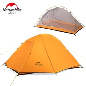 Naturehike Ultralight Camping Tent 2 Person 20D Nylon Waterproof Outdoor Travel Tent Cycling Hiking Portable Double Layer