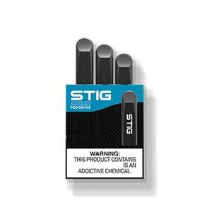 100% Original VGOD STIG Disposable Pod Device 3Pcs Pack 270mAh Battery 1.2ml Cartridge Vape Pen Kit PK STICK plus puff bar