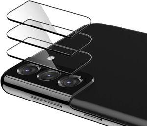 Тонкий 9H Закаленные стеклянные камеры Оклееренные высокой четкости камеры объектива защитника для Samsung Galaxy S21 Ultra / S21 Plus / S21 S20 Примечание 20 S10