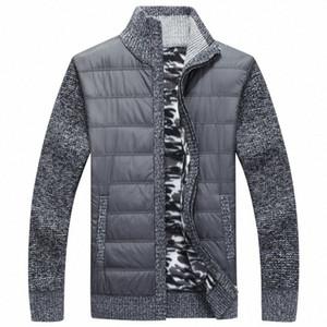 NAMTHEUN 2020 Kış erkekler yün ceket yün hırka kas Fit Trikotaj bluz Sonbahar için Şık Erkek Giyim artı boyutu ceket x2te #