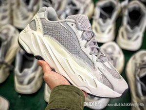 2019 Hottest 700 V2 Vanta Fu6684 Wave Runner Kanye West Black 3m Running Shoes Men Women Static Inertia Sneakers With Original Box w