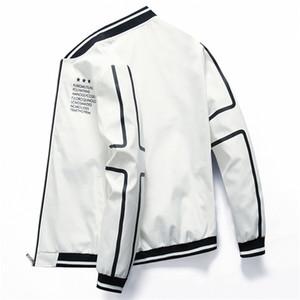 Bomber Zipper Jacket Moda Masculina Streetwear Pilot Brasão Casual da DIMUSI Homens Winter Autum Slim Fit Baseball Jackets Men Vestuário C1021