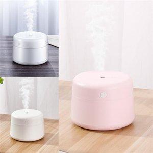 Silence Ultrasonic Aromatherapy Machine USB Mini Home 220ml Diffusore di olio essenziale Ragazza Semplice strumento di approvvigionamento idrico di colore solido