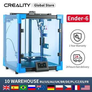 Yazıcılar est Creencity 3D Ender-6 Yazıcı Tüm-Zihinsel Kübik Yapısı Sessiz Anakart Marka 350 W Güç Büyük Artı Boyutu 250 * 250 * 400mm
