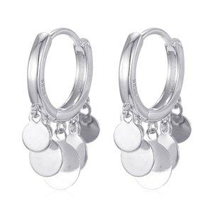 Trendy New Moda Donna Multi Piercing Ear Gioielli Geometrico Tiny Round Charm Mini Small Hoop Earring