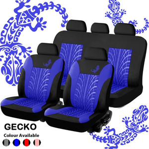 GM seat cover package is suitable for most car seat covers, with details of tire track style rose seat protector for four seasons seats