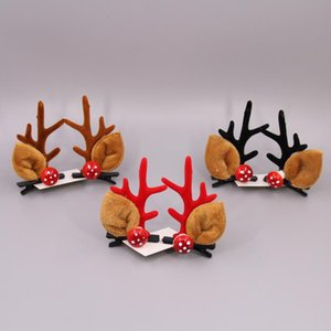 FedEx! Christmas Antler Hair Clips Adult Children Hairpins Christmas Party Head Ornaments Kids Creative Christmas&Birthday Gifts A12