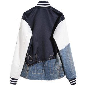 High Quality Embroidery Panelled Fashion Single Breasted Coats Couples Women and Men's Designer Jackets